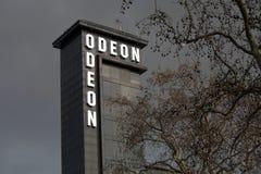 Buitenmening van Odeon Royalty-vrije Stock Foto's
