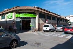 Buitensanta catalina-markt royalty-vrije stock afbeeldingen