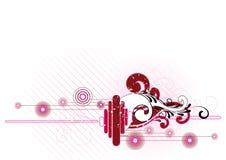 Buitensporig artistiek ontwerp Royalty-vrije Illustratie