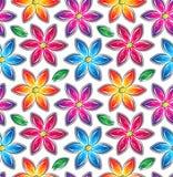 Buitensporig naadloos behang vector illustratie