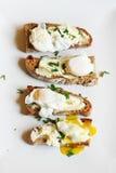 Buitensporig ontbijt Stock Foto