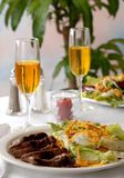 Buitensporig Restaurant royalty-vrije stock foto's
