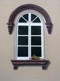 Buitensporig vensterontwerp Stock Afbeelding