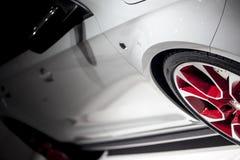 Buitensporige Auto Stock Foto