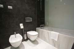 Buitensporige badkamers Royalty-vrije Stock Afbeelding