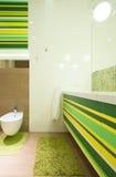 Buitensporige badkamers royalty-vrije stock foto's