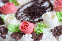Buitensporige cake Stock Fotografie