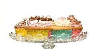 Buitensporige Cakes Stock Foto's