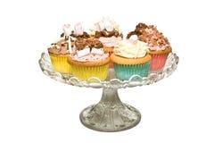Buitensporige Cakes Stock Afbeeldingen