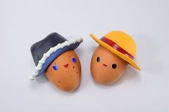 Buitensporige eieren Royalty-vrije Stock Fotografie