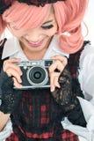 Buitensporige fotograaf Stock Foto
