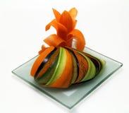 Buitensporige fruit en groenten Royalty-vrije Stock Foto's