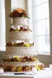 Buitensporige huwelijkscake Royalty-vrije Stock Afbeelding