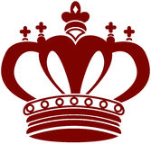 Buitensporige Kroon vector illustratie