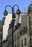 Buitensporige Parijse buurten Stock Foto