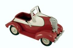 Buitensporige Rode auto Stock Afbeeldingen