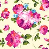 Buitensporige rozen royalty-vrije illustratie