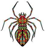 Buitensporige Spin vector illustratie