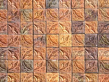 Buitensporige tegels Stock Afbeelding