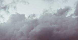 Buitensporige wolken Stock Fotografie