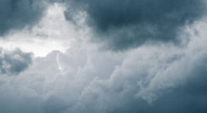 Buitensporige wolken Royalty-vrije Stock Foto