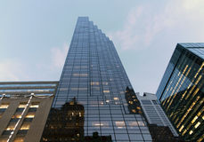Buitentroeftoren in NYC Stock Afbeelding