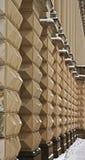 Buitiful textured lattice fence Royalty Free Stock Photo