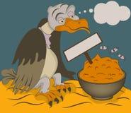 Buitre hambriento libre illustration