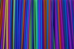 Buizen verschillende heldere kleuren voor alle dranken royalty-vrije stock foto's