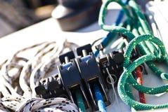Bujão e cordas Imagem de Stock Royalty Free