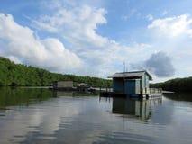 Bujang Sungai Lebam River in Malaysia Stock Photography
