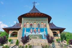 Bujoreni kloster royaltyfri foto