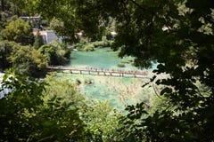 buk克罗地亚krka国家公园skradinski瀑布 免版税图库摄影