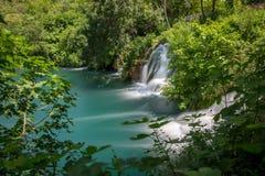 buk克罗地亚krka国家公园skradinski瀑布 库存照片