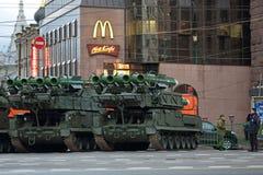 Buk导弹系统 免版税库存照片