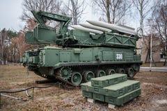 Buk导弹系统 库存图片