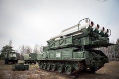 Buk导弹系统 免版税图库摄影