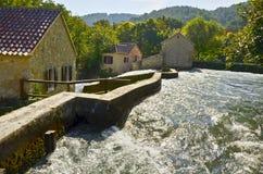 buk εθνικός καταρράκτης skradinski πάρκων krka της Κροατίας Στοκ Εικόνες