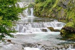 Buk de Strbacki da cachoeira Imagem de Stock Royalty Free