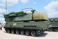 Buk-M导弹发射装置 库存图片