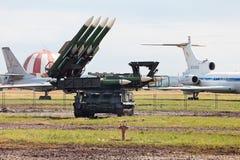 Buk missile system Stock Photos