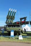 Buk missile system Stock Image