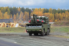 Buk missile system Stock Images