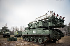 Buk missile system Royalty Free Stock Photography