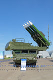 BUK missile system Stock Photography