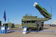 BUK missile system Stock Photo