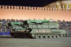 Buk missilsystem Arkivfoton
