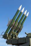 Buk-Raketensystem lizenzfreie stockfotografie