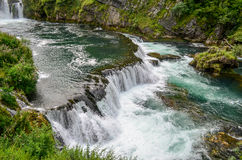 Buk Strbacki водопада Стоковые Изображения RF