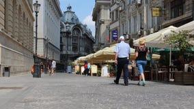 Bukarest stock footage